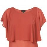 czerwona bluzka Topshop - wiosna/lato 2011