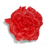 czerwona broszka Reserved z kwiatem - wiosna/lato 2012