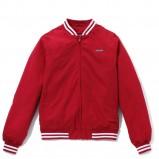 czerwona kurtka Cropp - moda jesień/zima 2010