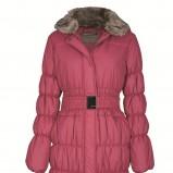 czerwona kurtka Top Secret pikowana - moda 2011/2012