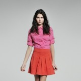 czerwona spódnica Camaieu - kolekcja wiosenno/letnia