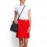 czerwona spódnica Mango - z kolekcji wiosna-lato 2012