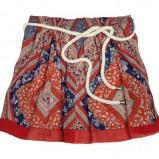 czerwona spódnica Topshop - wiosna-lato 2011