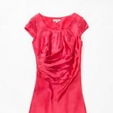 czerwona sukienka Aryton satynowa - kolekcja wiosenno/letnia