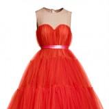 czerwona sukienka H&M - jesień/zima 2010/2011