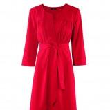 czerwona sukienka H&M - wiosna-lato 2012