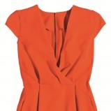 czerwona sukienka Orsay ołówkowa - wiosna/lato 2012