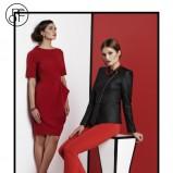 czerwona sukienka Pretty One