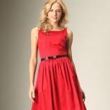 czerwona sukienka Promod - wiosna/lato 2011