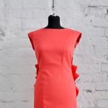 czerwona sukienka Rina Cossack - z kolekcji wiosna-lato 2011