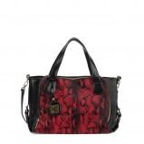 czerwona torebka Kazar w wężową skórę - moda 2012