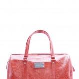 czerwona torebka Mango w węzową skórę - kolekcja na lato