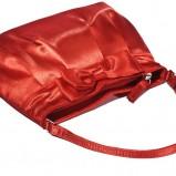 czerwona torebka New Yorker satynowa - moda jesień/zima 2010