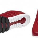 czerwone adidasy Adidas - kolekcja jesienno-zimowa