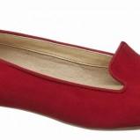 czerwone baleriny Deichmann - wiosna-lato 2012