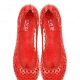 czerwone baleriny Venezia - kolekcja wiosenno/letnia