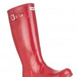 czerwone kalosze Hunter - moda 2011/2012