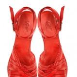 czerwone sandałki Venezia - lato 2011