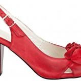 czerwone sandałki Wojas - wiosna/lato 2011