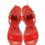 czerwone sandały Venezia - wiosna 2011