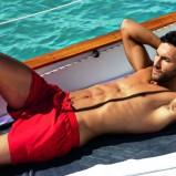 czerwone szorty Calzedonia - letnia kolekcja