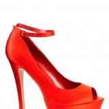 czerwone szpilki New Look na platformie - zima 2011/2012
