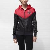 czerwono-czarna kurteczka Nike - moda na wiosnę i lato 2013