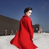czerwony płaszcz Makalu - jesień 2011