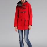 czerwony płaszcz Top Secret - moda na jesień 2013
