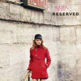 czerwony płaszczyk Reserved - jesień/zima 2011/2012