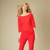 czerwony spodnie Promod - z kolekcji jesień-zima