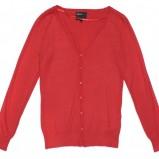 czerwony sweter Butik rozpinany - kolekcja jesienna