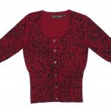 czerwony sweter Carry w ciapki - jesień/zima 2011/2012
