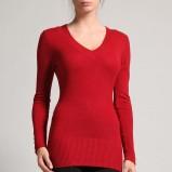 czerwony sweter Orsay - jesień/zima 2011/2012