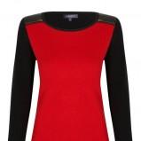 czerwony sweterek Marks & Spencer - kolekcja jesienna 2013