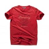 czerwony t-shirt Big Star - wiosna/lato 2011