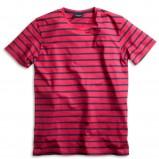 czerwony t-shirt Kappahl w paski - moda 2011