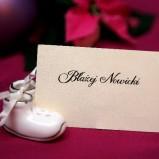 Dekoracje na stół weselno-świąteczny - zdjęcie