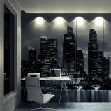 designerskie  drzwi  PIU Design pokryte tapetą