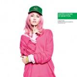 długa bluza Benetton w kolorze różowym - wiosna i lato 2013