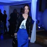 długa spódnica w kolorze niebieskim - Paulina Sykut