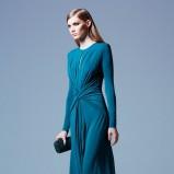 długa sukienka wieczorowa Elie Saab - trendy 2013/14