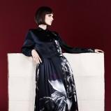 długa suknia Fendi - moda na zimę 2013/14