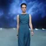 długa suknia w kolorze morskim - Łukasz Jemioł