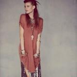 długa tunika Free People - moda na lato 2013