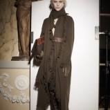 długi płaszcz Lanvin w kolorze brązowym - zima 2013