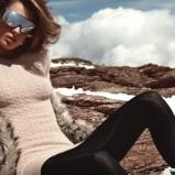 długi sweter H&M w kolorze brązowym - ubrania na zimę