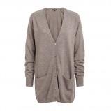 długi sweter Lindex w kolorze beżowym - moda damska
