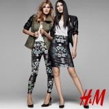 dopasowana spódnica H&M w kolorze czarnym - wiosna 2013