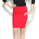 dopasowana spódniczka Orsay w kolorze czerwonym - moda na wiosnę i lato 2013